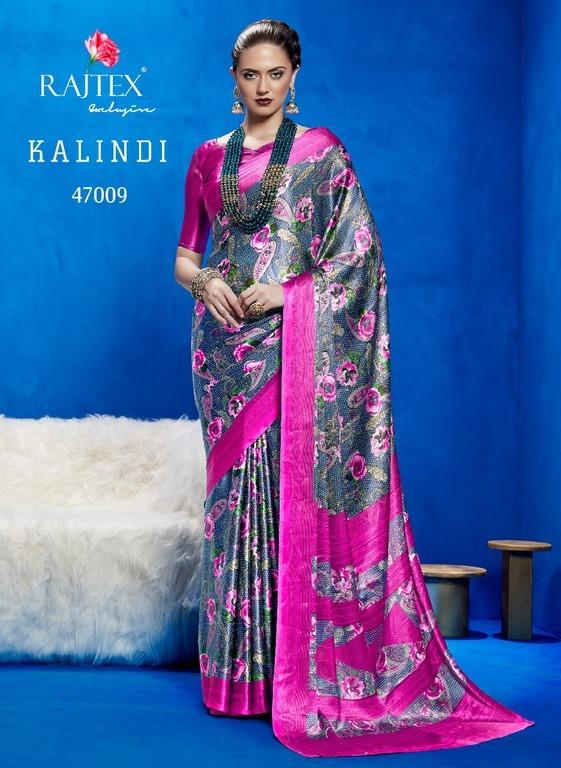 Printed franch crepe silk sarees online