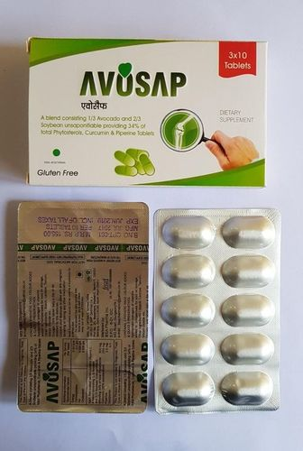 Avocado With Unsaponifable Soybean Curcumin & Piperine Tablets