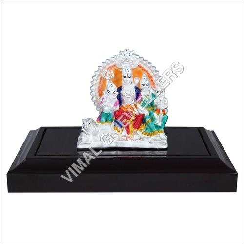Emerald Shiv Parvati Idol