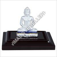 Emerald Mahavir Bhagwan Idol