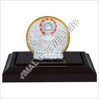 Silver Mahavir Bhagwan Idol