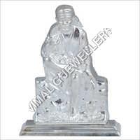 Kapoor Silver Sai Baba Statue