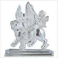 Kapoor Silver Shera Wali Statue