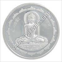 Silver Mahavir Bhagwan Coins