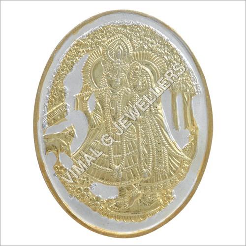 Radha Krishna Golden Polish