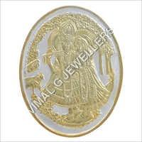 Radha Krishna Gold Coin