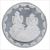 Silver Lakshmi Coins