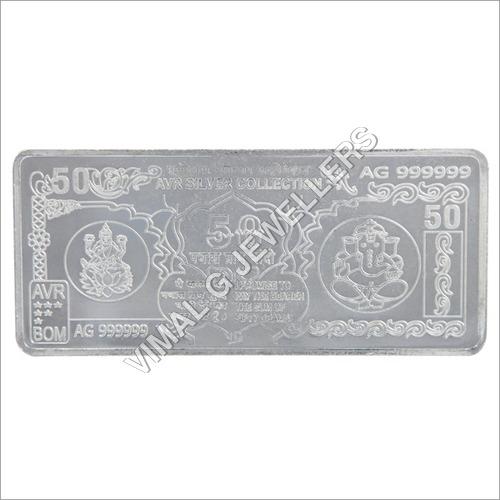 Silver Lakshmi Ganesh Note