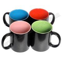 Inner Colour Black Magic Mug
