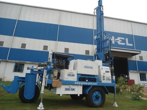 150 meter Depth Hydraulic  Portable Water Well Drilling Rig