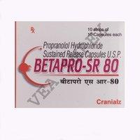 BETAPRO SR 80MG(Propranolol Hydrochloride)
