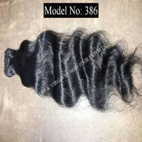 Natural Indian Temple Remy Human Hair