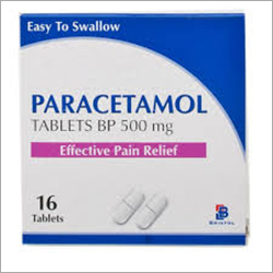 Paracetamol 500 Tabs (Jar Packing -Oval)