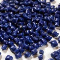 HDPE Dark Blue Plastic Granules
