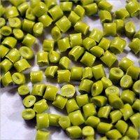 HDPE Green Plastic Granules