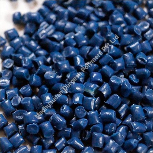 LLDPE Blue Plastic Granules