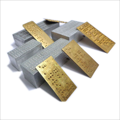 CNC Braille Male and Female Blocks