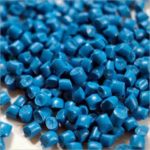 HDPE Sky Blue Plastic Granules