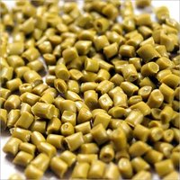 HDPE Yellow Plastic Granules