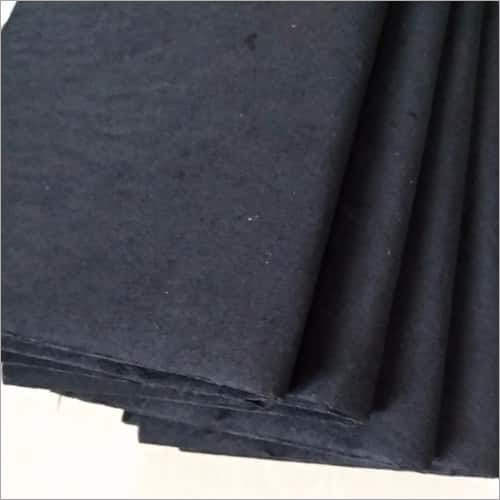 Black Embroidery Backing Paper