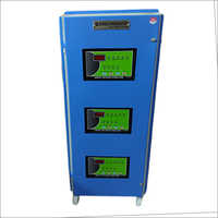 Three Phase Air Cool Digital Servo Voltage Stabilizer