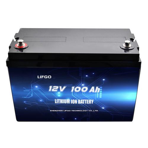 12V 100Ah LiFePO4 battery pack for accumulator