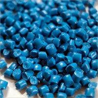 LDPE Sky Blue Plastic Granules