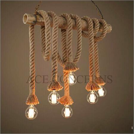 Rope Pendant Light