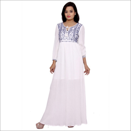 Ladies Designer Long Dress