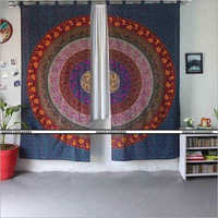 Printed Mandala Curtain