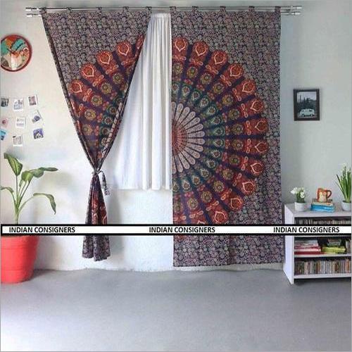 Handmade Mandala Curtain