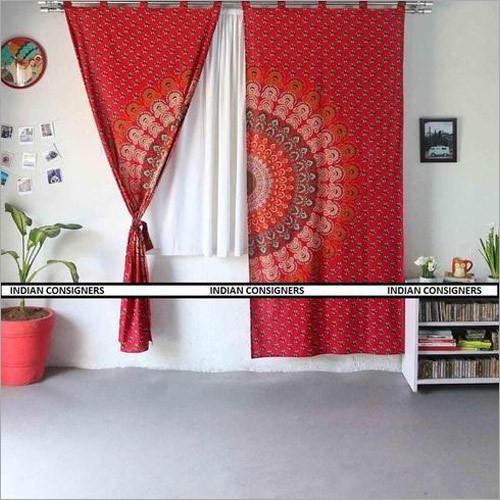 Indian Mandala Curtains