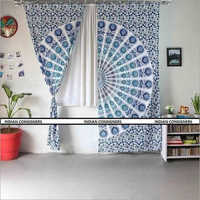 Wall Hanging Mandala Curtain