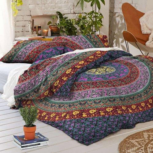 Cotton Printed Duvet Cover