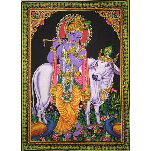Krishna Wall Hanging Poster
