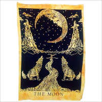 Moon And Wolf Wall Hanging Poster