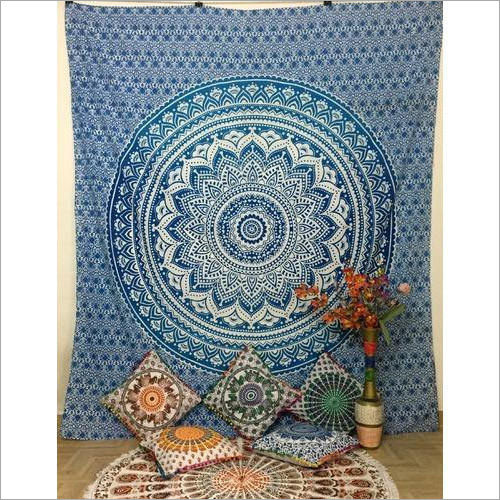 Printed Tapestry Wall Hangings