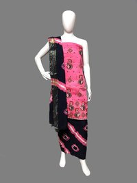 Embroidery Work Batik Cotton Dress Material