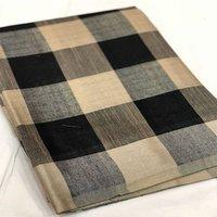 Pure Linen Cotton With Zari Border Saree