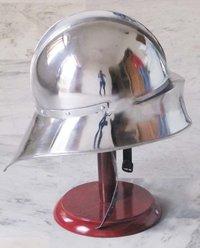 German Sallet Helmet European close Wearable W/Liner