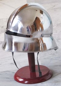 German Sallet Helmet European close Wearable W/Liner