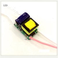 Built-in LED driver power supply 2-1x3W input AC85-277V output DC3-5V/600MA±5%