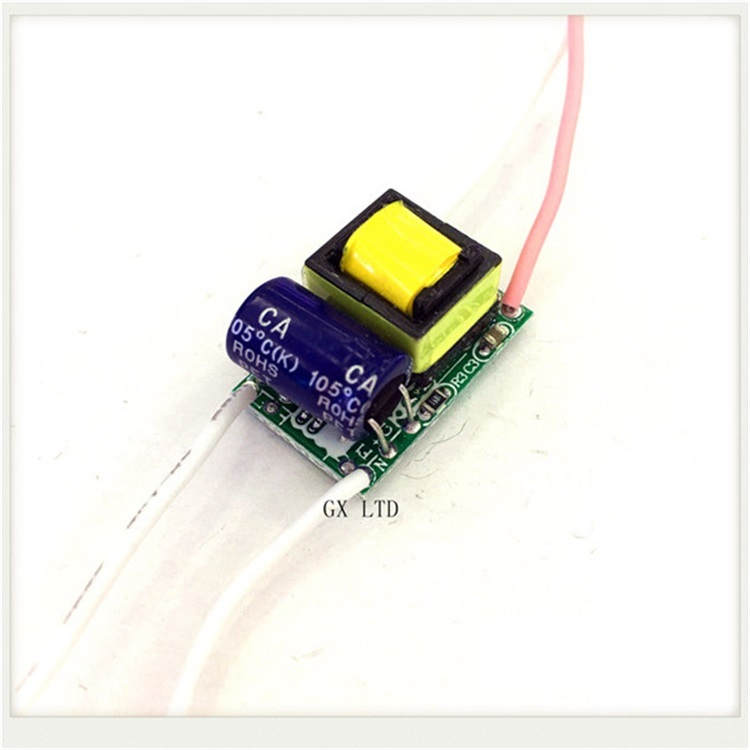 Built-in Led Driver Power Supply 2-1x3w Input Ac85-277v Output Dc3-5v/600maâ±5%