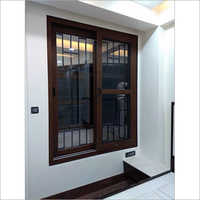 3 Track Wooden Upvc Window