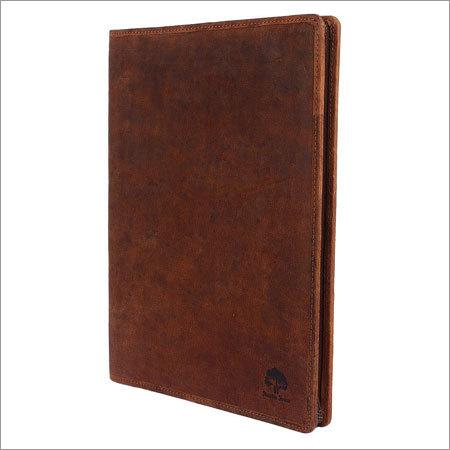 Leather Plain Portfolio
