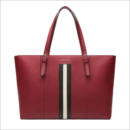 Ladies Red Shoulder Bag