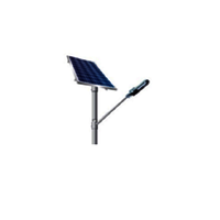 SOLAR STREET LIGHT WITH SAPERATE LUMINARY AND INTEGRATED BATTERY