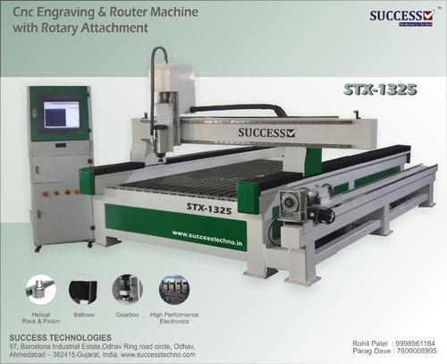 CNC Engraving & Router Machine with Rotary Attachment