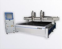 CNC Engraving Router Machine 2 spindle