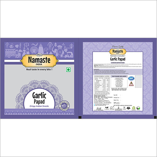 Garlic Papad 400g Final